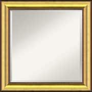 Willa Arlo Interiors Square Gold Wall Mirror