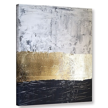 Willa Arlo Interiors 'Golden Sea' Graphic Art Print on Canvas; 18'' H x 14'' W x 2'' D