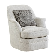 Willa Arlo Interiors Denisha Swivel Armchair