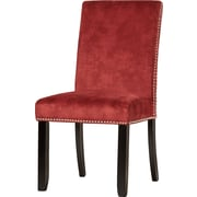 Willa Arlo Interiors Brucedale Parsons Chair (Set of 2); Burgundy