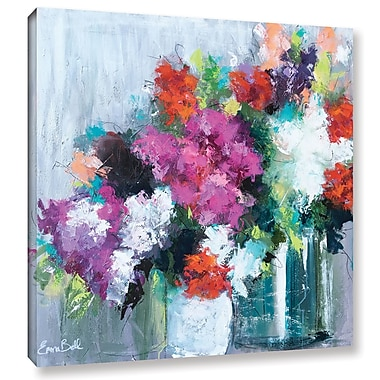 Willa Arlo Interiors 'Flowers Market' Painting Print on Wrapped Canvas; 18'' H x 18'' W x 2'' D