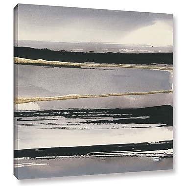 Willa Arlo Interiors 'Gilded Gray I' Painting Print on Wrapped Canvas; 36'' H x 36'' W x 2'' D