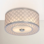 Willa Arlo Interiors Dunlap Light Semi Flush Mount; 12''