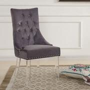 Willa Arlo Interiors Cliveden Parsons Chair; Gray