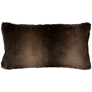 Willa Arlo Interiors Fowler Lumbar Pillow Cover; Brown