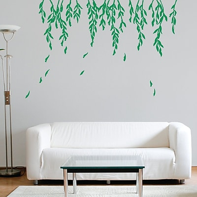 Wallums Wall Decor Willow Branches Wall Decal; Green