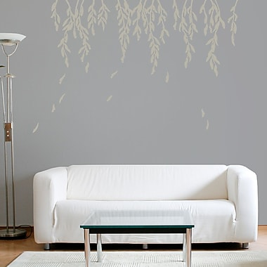Wallums Wall Decor Willow Branches Wall Decal; Warm Gray