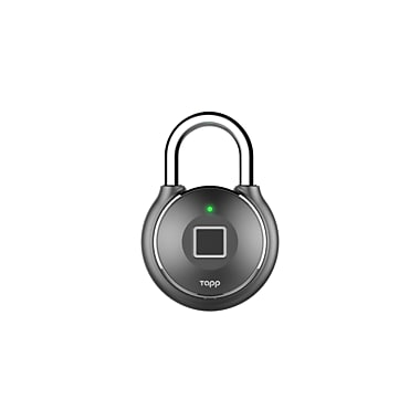 Tapplock One Fingerprint Padlock, Gun Metal