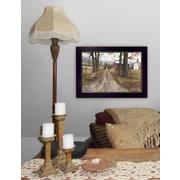 "TrendyDecor4U The Road Home -8.5""x12.25"" Framed Print (BJ143E-712)"