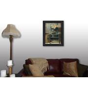 "TrendyDecor4U This Old Chair -12""x16"" Framed Print (BOY375-405)"
