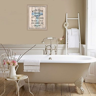 TrendyDecor4U Wash your Hands -12