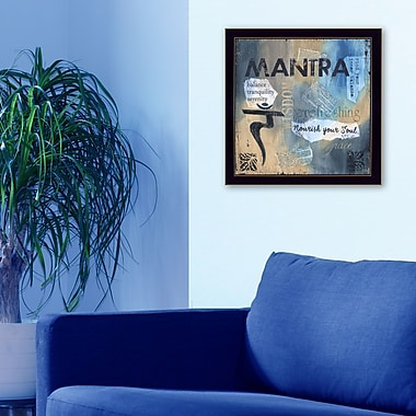 TrendyDecor4U Yoga Series-Mantra