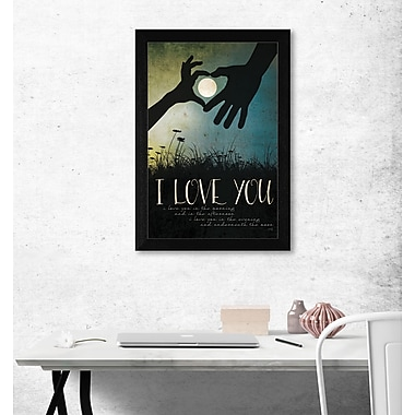 TrendyDecor4U I Love You Underneath the Moon -12