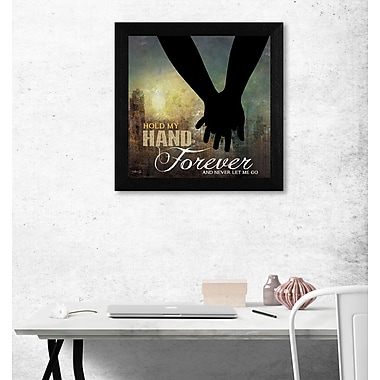 TrendyDecor4U Hold My Hand Forever -12