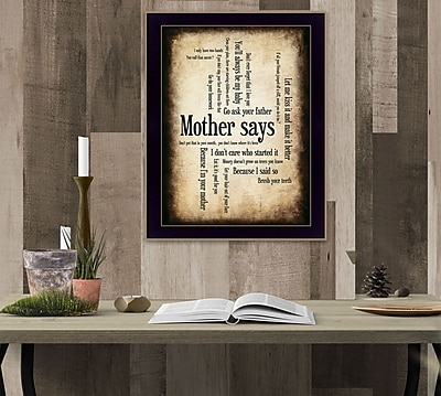 TrendyDecor4U Mother Says-12