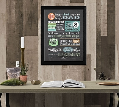 TrendyDecor4U Reminders from Dad -12
