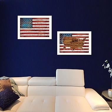 TrendyDecor4U American Flag -2-24