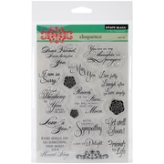 """Penny Black Clear Stamps 5""""X7""""-Eloquence"""