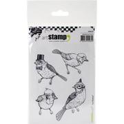 Carabelle Studio Cling Stamp A6-Birds