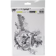 Carabelle Studio Cling Stamp A5-Rounds & Text