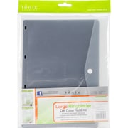 Tonic Studios Large Ring Binder Die Case Refills 3/Pkg-A4 Magnetic Sheets W/Plastic Sleeves