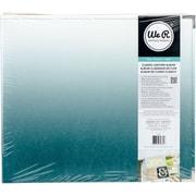 """We R Designer D-Ring Album 12""""X12""""-Ombre Aqua"""