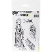 Carabelle Studio Cling Stamp A6-An Angel To Love