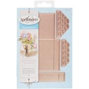 Spellbinders Shapeabilities Dies-Scalloped Pop Up Box