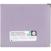 "We R Classic Leather D-Ring Album 12""X12""-Lilac"