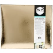 "We R Classic Leather D-Ring Album 12""X12""-Gold"