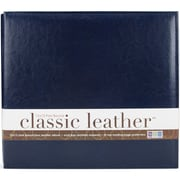 "We R Classic Leather Post Bound Album 12""X12""-Navy"