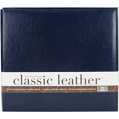 We R Classic Leather Post Bound Album 12