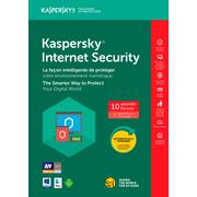 Kaspersky Internet Security 2017, 10-User, 1 Year