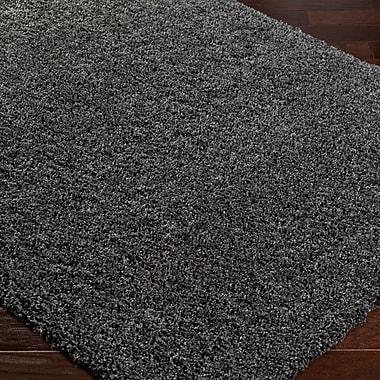 Willa Arlo Interiors Roberto Solid Gray Area Rug; 7'10'' x 10'3''