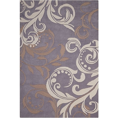 Charlton Home Coventry Floral Area Rug; 8' x 10'6''