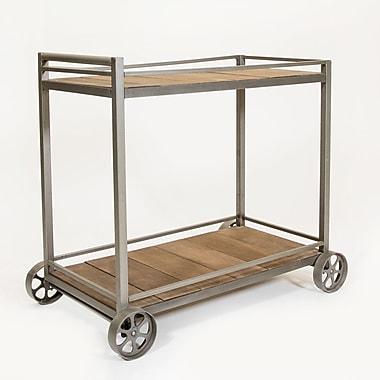 17 Stories Siya Bar Cart; Gray