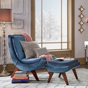 Willa Arlo Interiors Andr a Lounge Chair and Ottoman