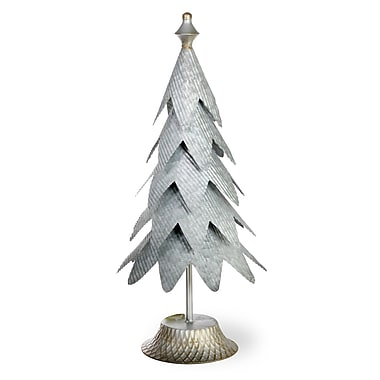 The Holiday Aisle Galvanized Metal Tree Aspen