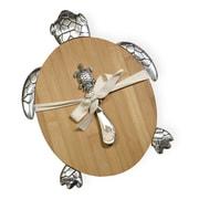 Boston International 2 Piece Bamboo Sea Turtle Cutting Board & Spreader Set (Set of 2)