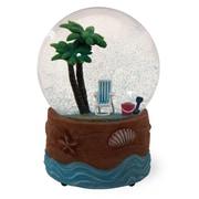 Bay Isle Home Palmy Beach Snow Globe