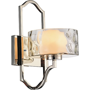 CrystalWorld Lorri 1-Light Armed Sconce