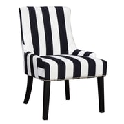 Willa Arlo Interiors Aicha Stripe Wingback Chair