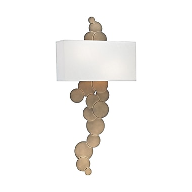 Willa Arlo Interiors Roxann 2-Light Wall Sconce