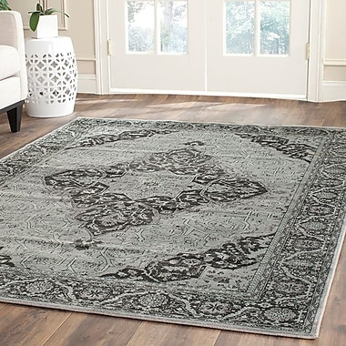 Mistana Makenna Mint Gray Rug; 10' x 14'