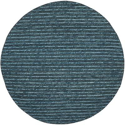 Mistana Makhi Dark Blue/Multi Area Rug; Round 8'
