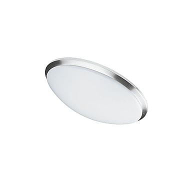 Dainolite – Plafonnier encastré à DEL 14 W 280 mm 11 po, 3 x 15 x 3 po, chrome satiné (CFLED-L1114-SC)