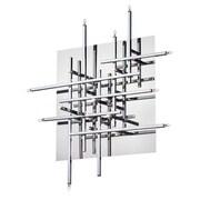 Dainolite 16LT Mondrian Flush-mount 6 x 24 x 24 in Polished Chrome (CG8616FH-PC)