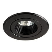Dainolite Trim W Coilex Baffle-use W Dl3000housing 2.5 x 3.25 x 3.25 in Black (DL300-BK)