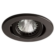 Dainolite Trim-eyeball Type-use W Dl3000 Housing 2.5 x 3.25 x 3.25 in Black (DL305-BK)