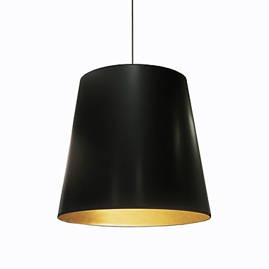 Dainolite – Luminaire suspendu  1 ampoule 21 x 26 x 26 po avec